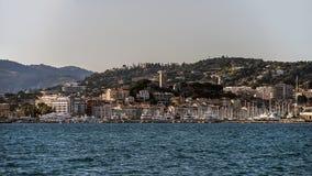 Vecchia città di Cannes fotografia stock