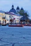 Vecchia città di Chelm, Polonia Fotografie Stock