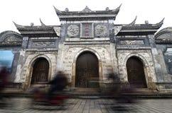 Vecchia città di Chengdu Fotografie Stock Libere da Diritti