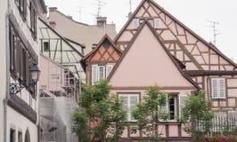 Vecchia città di Colmar Fotografia Stock Libera da Diritti