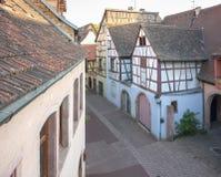 Vecchia città di Colmar Immagine Stock Libera da Diritti