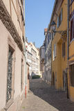 Vecchia città di Colmar Immagini Stock Libere da Diritti