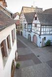 Vecchia città di Colmar Immagine Stock