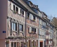 Vecchia città di Colmar Immagini Stock