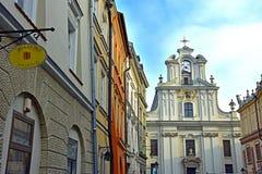 Vecchia città di Cracovia Fotografia Stock