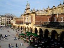 Vecchia città di Cracovia Polonia immagine stock