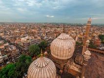 Vecchia città di Delhi fotografia stock