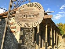 Vecchia città di Dilijan in Armenia Fotografia Stock Libera da Diritti