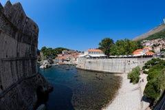 Vecchia città di Dubrovnik fotografia stock libera da diritti