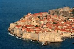 Vecchia città di Dubrovnik Immagine Stock