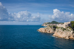 Vecchia città di Dubrovnik Fotografie Stock
