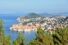 Vecchia città di Dubrovnik, Croatia Immagini Stock Libere da Diritti