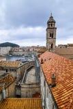 Vecchia città di Dubrovnik nel Croatia immagine stock libera da diritti