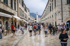 Vecchia città di Dubrovnik nel Croatia fotografia stock