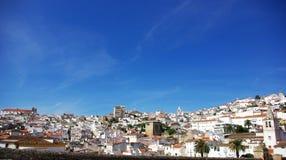 Vecchia città di Elvas. Fotografia Stock Libera da Diritti