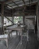 Vecchia città di estrazione mineraria Fotografia Stock