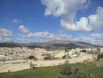 Vecchia città di Fes, Marocco Fotografia Stock Libera da Diritti