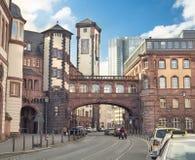 Vecchia città di Francoforte sul Meno Fotografia Stock Libera da Diritti
