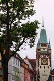 Vecchia città di Friburgo in Brisgovia in Germania fotografie stock