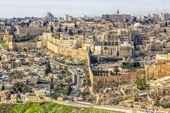 Vecchia città di Gerusalemme Fotografia Stock Libera da Diritti