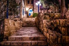Vecchia città di Giaffa Fotografie Stock Libere da Diritti