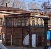 Vecchia città di Irkutsk Fotografie Stock Libere da Diritti