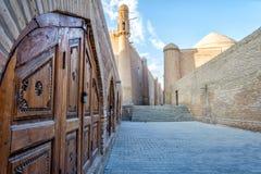 Vecchia città di Khiva, l'Uzbekistan Immagine Stock