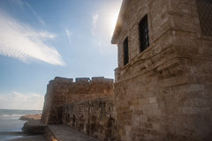 Vecchia città di Larnaca Fotografie Stock