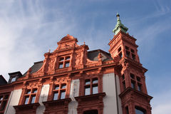 Vecchia città di Leipzig Immagine Stock