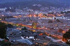 Vecchia città di Lijiang fotografia stock libera da diritti