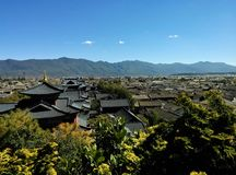 Vecchia città di Lijiang Immagini Stock