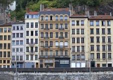 Vecchia città di Lione Fotografie Stock Libere da Diritti