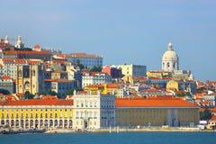 Vecchia città di Lisbona, Portogallo Fotografie Stock Libere da Diritti