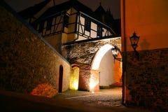 Vecchia città di Magdeburgo Fotografia Stock