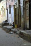 Vecchia città di Mombasa Fotografia Stock Libera da Diritti