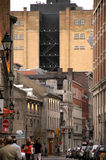 Vecchia città di Montreal fotografie stock libere da diritti