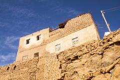 Vecchia città di Mut, Dakhla Immagini Stock