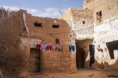 Vecchia città di Mut, Dakhla Immagine Stock