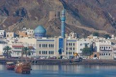 Vecchia città di Mutrah, Muscat, Oman immagini stock