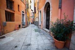 Vecchia città di Nizza, Francia Immagini Stock Libere da Diritti