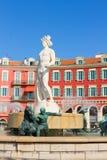 Vecchia città di Nizza, Francia Immagini Stock