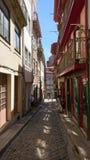 Vecchia città di Oporto Fotografie Stock