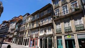 Vecchia città di Oporto Immagini Stock