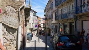 Vecchia città di Oporto Fotografia Stock Libera da Diritti