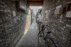 Vecchia città di Pechino Fotografia Stock