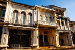 Vecchia città di Phuket Fotografia Stock Libera da Diritti