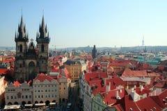 Vecchia città di Praga Fotografie Stock