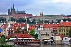 Vecchia città di Praga Immagini Stock Libere da Diritti