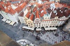 Vecchia città di Praque Fotografie Stock Libere da Diritti