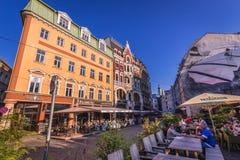 Vecchia città di Riga Immagini Stock Libere da Diritti